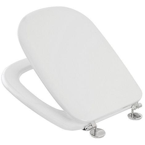 Sedile Wc Ideal Standard Serie Tesi.Sedile Wc Ricambio Per Vaso Ideal Standard Serie Tesi In Termoindurente Bianco