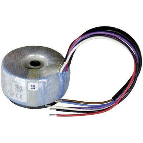 Sedlbauer 825002 Transformateur torique 1 x 230 V 2 x 12 V/AC 15 VA 0.63 A