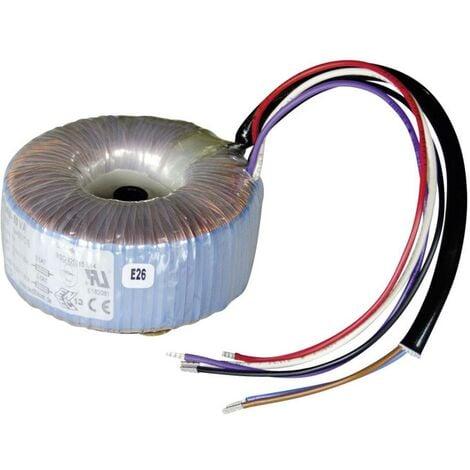 Sedlbauer 825014 Transformateur torique 1 x 230 V 2 x 12 V/AC 50 VA 2.08 A