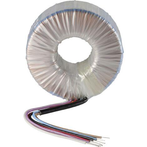 Sedlbauer 858739 Transformateur torique 1 x 230 V 2 x 12 V/AC 300 VA 12.50 A S96468