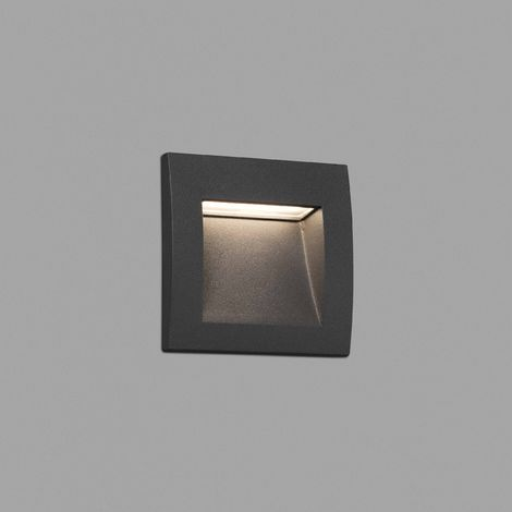 Sedna-1 Empotrable Gris Smd Led 1W 3000K