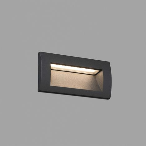 SEDNA-2 EMPOTRABLE GRIS SMD LED 3W 3000K - FARO