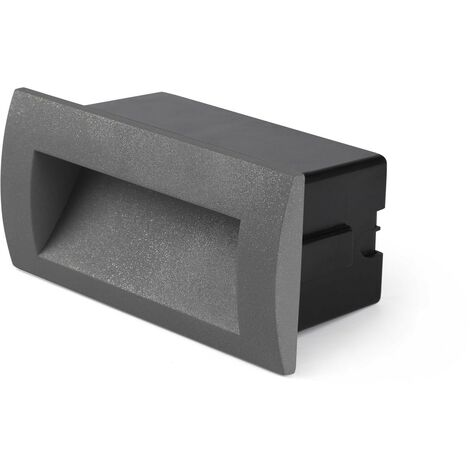 SEDNA-2 LED empotrable exterior gris