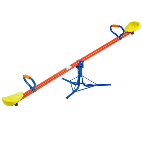 See Saw Seesaw Rocker Swing Playgound Stable & Safe Toddler 6.6x2.3x2.3ft