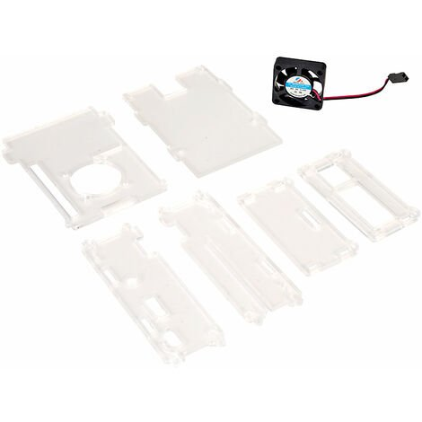 Seeed 114990129 Raspberry Pi Enclosure with Fan for B+ & 2