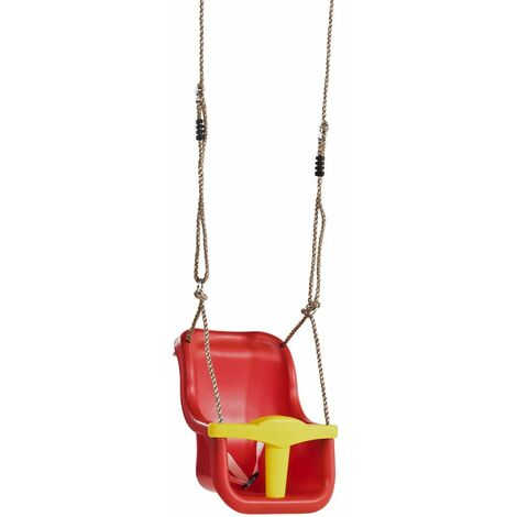 Seggiolino Anti Caduta in Plastica per Altalena Sedile Bambini Bimbi da Giardino