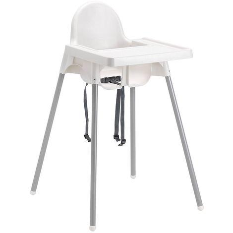 Antilop resina Seggiolone per e Ikea in bianco metallo bimbo dxeCWQrBo