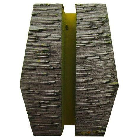 Segment de ponçage diamanté Gr 16 fixation Schwamborn - béton très dur ou chape - Diamwood