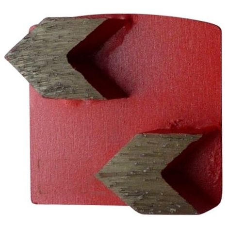 Segment de ponçage diamanté Gr 40 fixation Husqvarna - béton dur, chape, époxy - Diamwood