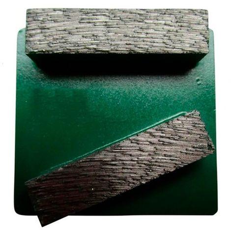 Segment de ponçage diamanté Gr 40 fixation Husqvarna - béton frais, chape, matériaux abrasifs - Diamwood