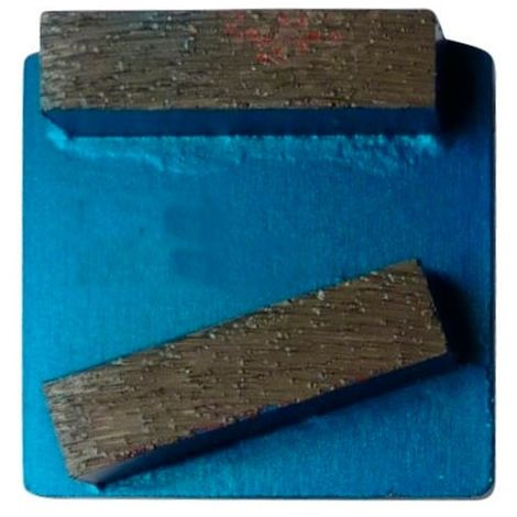 Segment de ponçage diamanté Gr 40 fixation Husqvarna - béton très dur ou chape - Diamwood