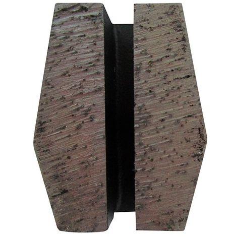 Segment de ponçage diamanté Gr 40 fixation Schwamborn - béton dur ou chape - Diamwood
