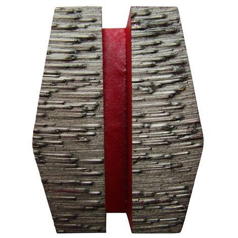 Segment de ponçage diamanté Gr 80 fixation Schwamborn - béton frais, chape, matériaux abrasifs - Diamwood