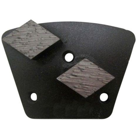 Segment de ponçage diamanté HCO Gr 30 à 3 trous avec connexion M6 - béton extrêmement dur - Diamwood