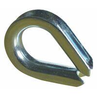 Seilschutz Edelstahl für Kante/Ecke für Seil bis 6 mm
