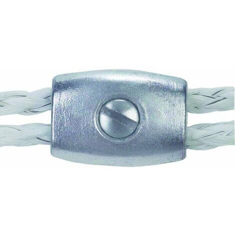 Seilverbinder Ø 3 - 6,5 mm mit Schraube, Stück