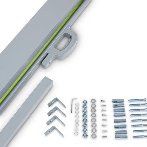 Seitenmarkise Sonnenschutz Sichtschutz Windschutz - diverse Farben und Größen