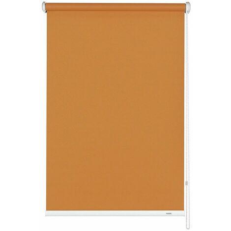 Seitenzug Rollo 92 x 180 cm Orange Verdunkelungsrollo Gardinia