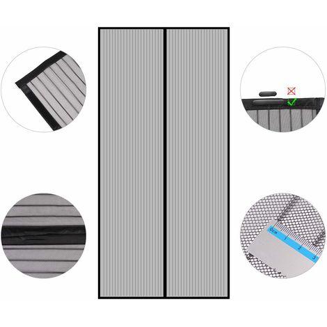 Sekey 2 PCS Magnet Fliegengitter Tür Insektenschutz