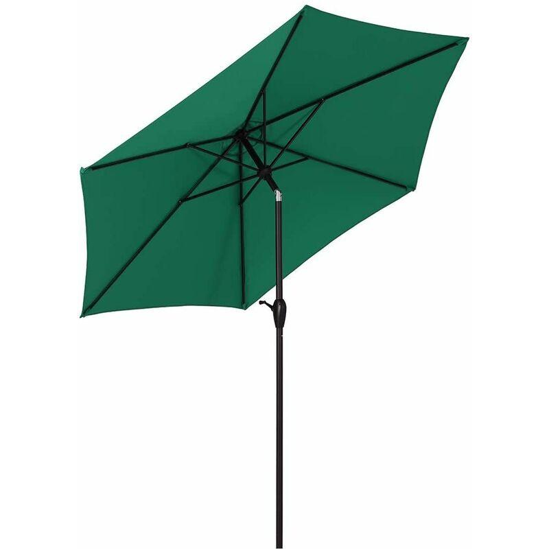 Ø 270 cm Parasol UV50 +, Vert forêt - Sekey