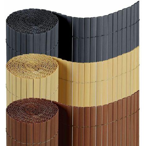 Sekey Canisse en PVC Brise Vue pour Jardin, Balcon et Terrasse, Résistant, avec Serre-Câbles