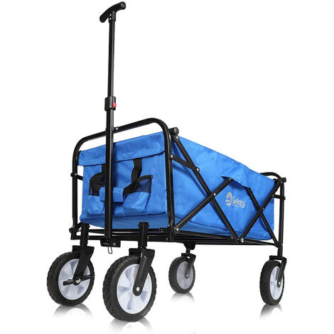 Sekey Chariot de Jardin Pliable Chariot de Plage Chariot de Jardin