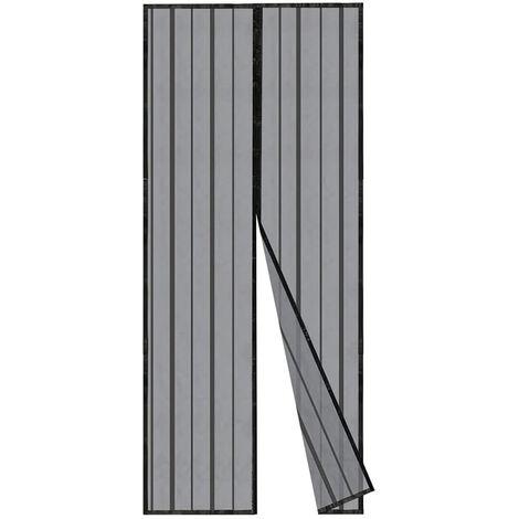 Sekey Insektenschutz Vorhang aus Polyester Türen Magnet Fliegengitter