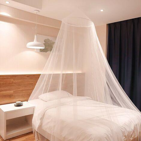 Sekey Moustiquaire pour Lits Simples/Doubles Écran de Protection Anti-Insectes