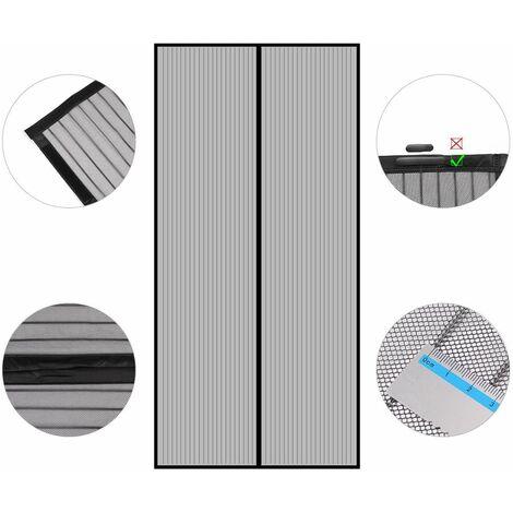 Sekey Rideau magnétique Noir ligne de pêche