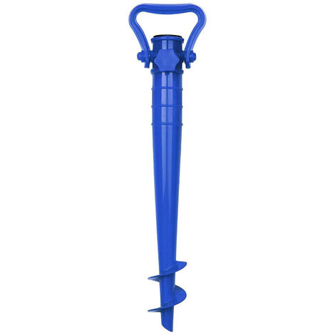 Sekey Support de Parasol pour Plage Sable ou Terre Pieds de Parasols,Pieds de Parasol de Plage à hélice à Visser dans Le Sable