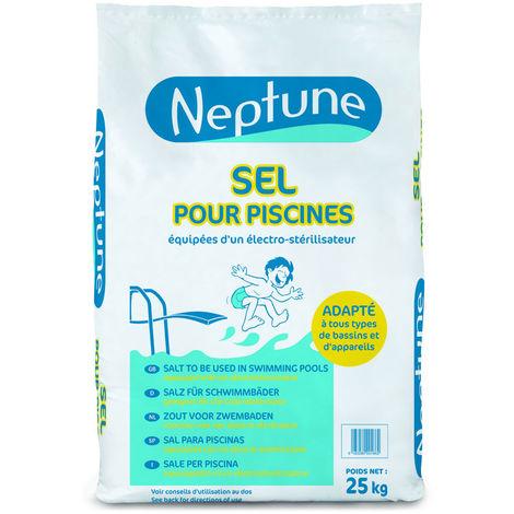 Sel de piscine 25 kg - Neptune