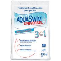 Sel de piscine pour électrolyse Aquaswim Universel 3 en 1 - 25 kg