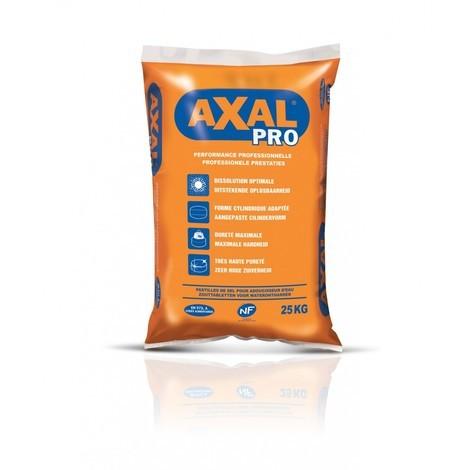 Sel pour adoucisseur eau sac 25kg AXAL PRO