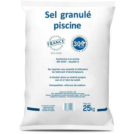 Sel pour électrolyseur piscine hydrosel: 6 sacs de 25 kg - 150 kg