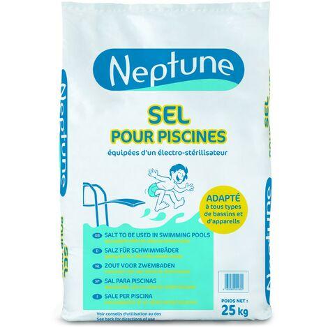 Sel pour Piscine NEPTUNE - Sac de 25 kg