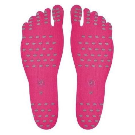 Selbstklebende Fuß Sohlen Aufkleber Größe L M XL Rosa FOOT PADS Feet Sticker Flexible 5858