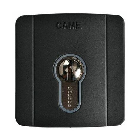 Selecteur à clé a encastreur avec cylindre DIN Came SELD2FAG