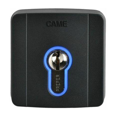 Selecteur à clé extérieur avec serrure à cylindre DIN Came SELD1FDG