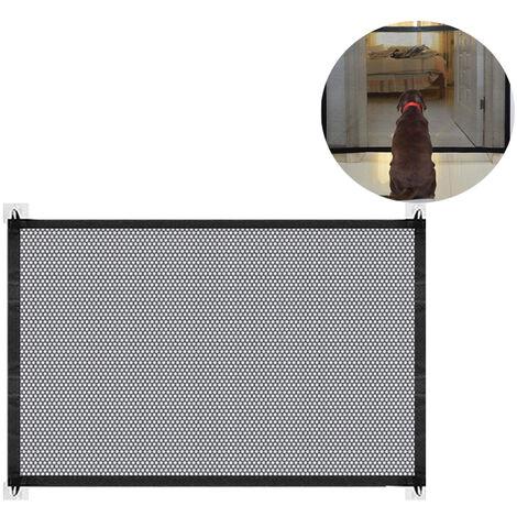 sélectionne les barrières pour chiens, Magic Gate pliable protège-portes pour chiens Porte et escalier pour bébés, chiens et chats