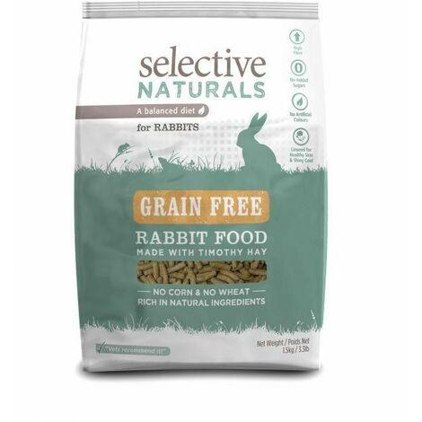 Selective alim lapin grain free sac/1,5kg granulés