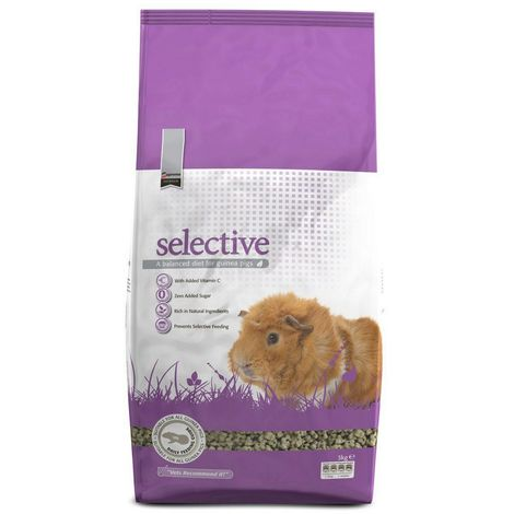 Selective Guinea Pig Food (3kg) (May Vary)