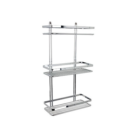 Selena 3 Tier Rectangular Shower Caddy