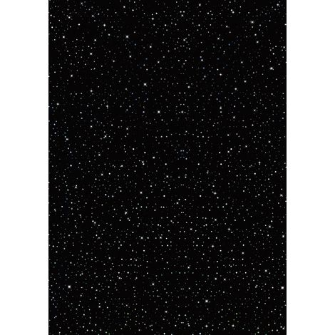 Selerow Panel PVC Black Galaxy Spot Cladding Wall 1000mm X 2400mm X 10mm