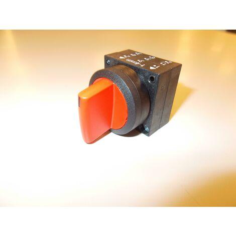 Selettore a leva a 3 posizioni rosso 3sb30002da21