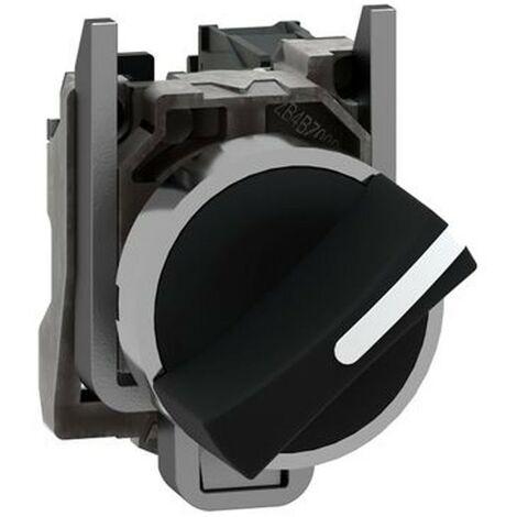 Selettore a Leva Telemecanique 2 Posizioni nero XB4BD21