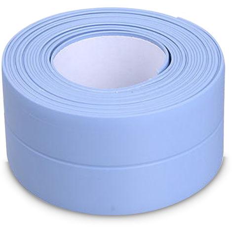 Self-Adhesive Caulking Strip For Kitchen Countertop Bathroom Flooring, Blue