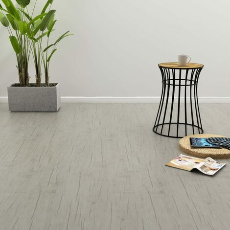 Self-adhesive Flooring Planks 4.46 m² 3 mm PVC Oak Washed