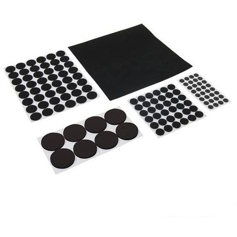 Self-Adhesive Pads Set 125pce - 125pce Black