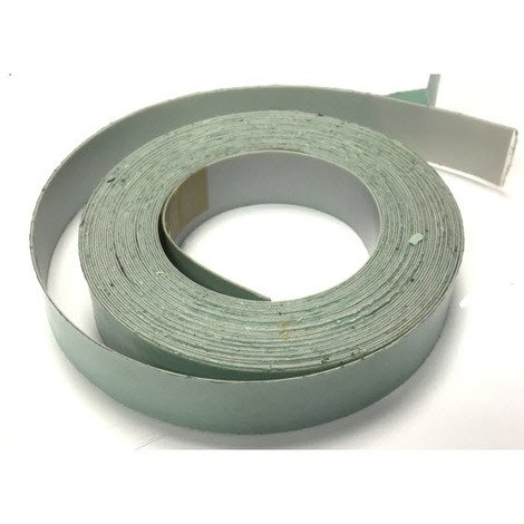 Self Adhesive PTFE Strip 25x0.5mm. Sold per meter