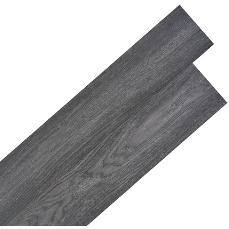 Self-adhesive PVC Flooring Planks 5.02 m² 2 mm Black and White